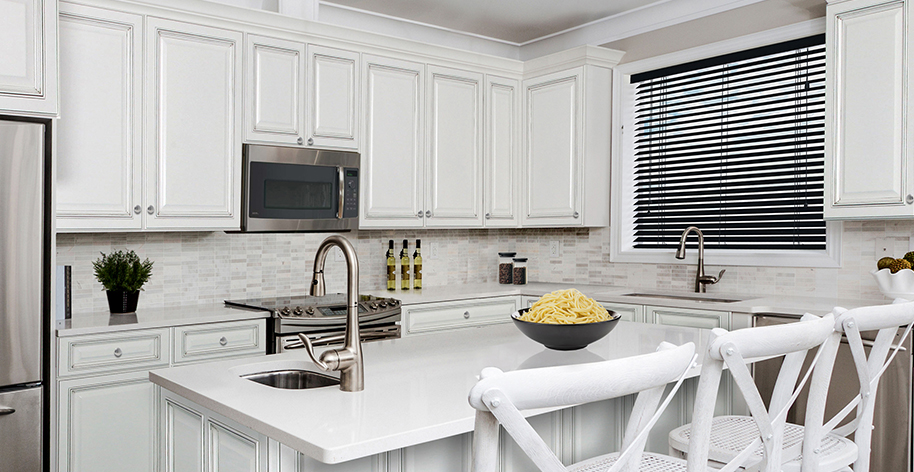 Sunny Wood Creates Unique Kitchen Cabinet Collections That Feature  Fine Furniture Like Finishes.